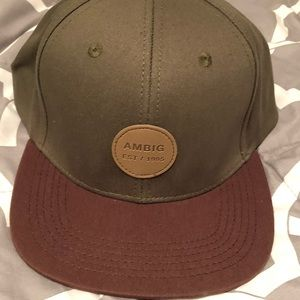 Brand New with Tags Ambiguous Ambig SnapBack Hat